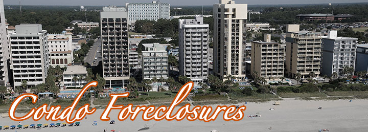 Foreclosed Condos in Myrtle Beach Area